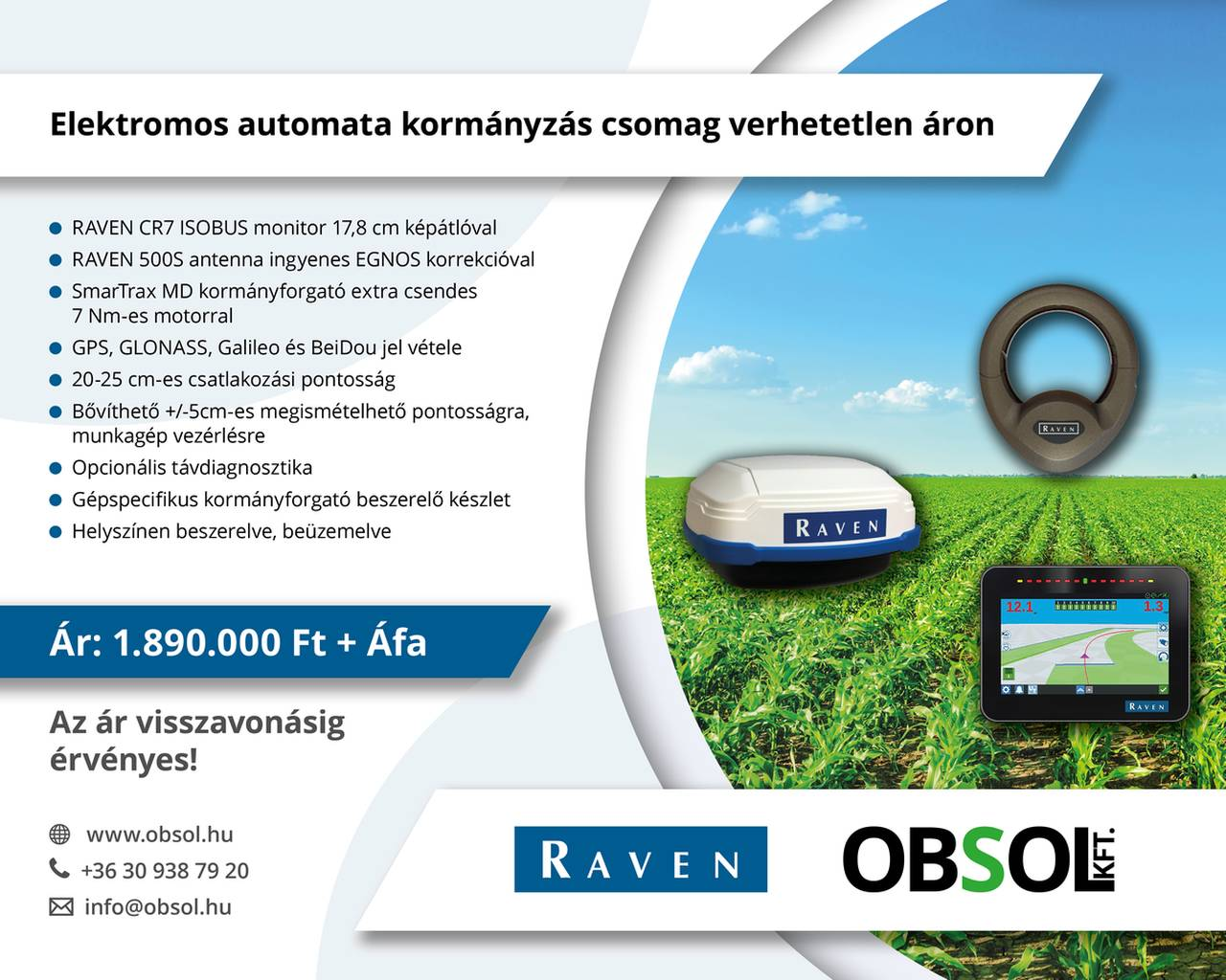 Raven CR7 500S MD